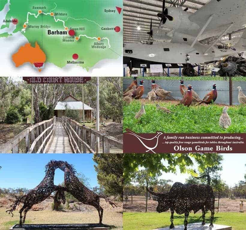 5 day Barham, Swan Hill & Boort (Trueblue Cultural Escapes) tour $1,050